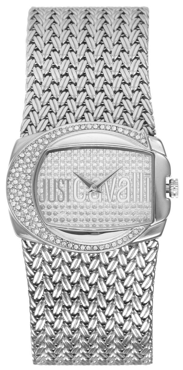 Часы наручные женские Just Cavalli, цвет: серебристый. R7253277545BM8434-58AEЯркие женские часы Just Cavalli выполнены из нержавеющей стали и минерального стекла.Корпус часов выполнен из нержавеющей стали и инкрустирован стразами Swarovski. Циферблат дополнен минеральным стеклом, инкрустирован стразами Swarovski и имеет степень влагозащиты равную 3 atm. Ремешок из нержавеющей стали имеет классическую застежку-пряжку.Часы поставляются в фирменной упаковке.С этими часами Вы не останетесь незамеченной. Привлекательный дизайн, необычная форма корпуса, блеск кристаллов и браслет миланского плетения. Часы Just Cavalli для искушенных модниц.