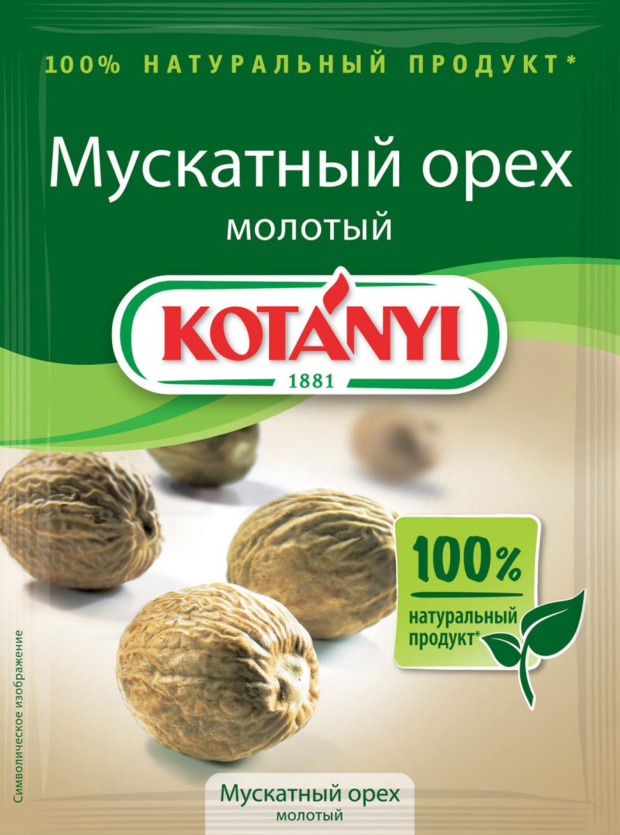 Kotanyi Мускатный орех молотый, 18 г0120710В мускатном орехе соединились насыщенный аромат и сладковато- горький пряный вкус. Благодаря мелкому помолу мускатный орех Kotanyi идеально подходит для разнообразных блюд. Идеален при приготовлении блюда из птицы, мяса, овощей (в особенности из шпината и капусты), легких соусов, сырного фондю, картофельного пюре, глинтвейна.Страна происхождения: Индонезия.Внимание, уважаемые клиенты! Продукт может содержать следы глютеносодержащих злаков, яиц, сои, сельдерея, кунжута, орехов, горчицы, молока (лактозы). Упаковка может иметь несколько видов дизайна. Поставка осуществляется взависимости от наличия на складе.