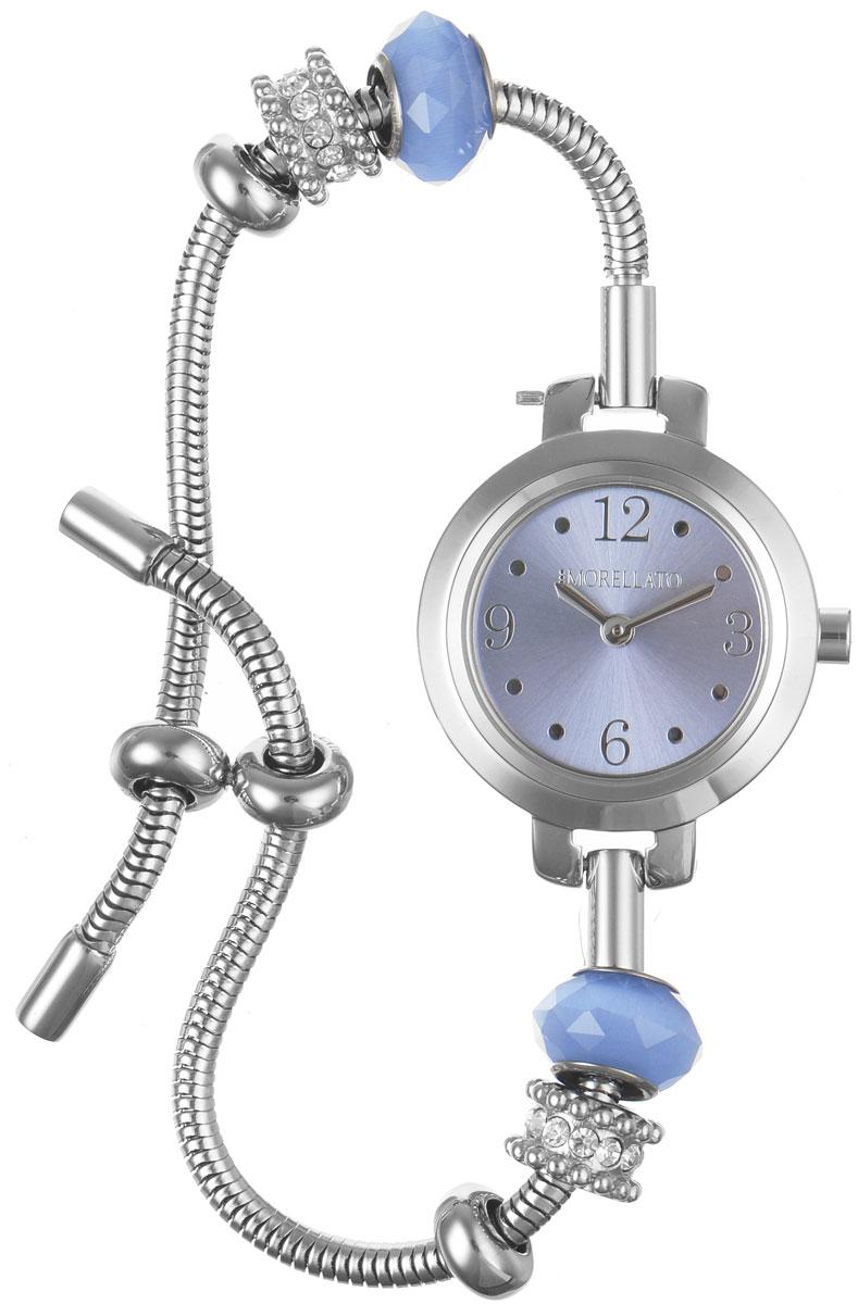 Часы наручные женские Morellato, цвет: серебристый. R0153122548BM8434-58AEИзысканные женские часы Morellato изготовлены из высокотехнологичной гипоаллергенной нержавеющей стали. Ремешок выполнен из нержавеющей стали. Кварцевый механизм имеет степень влагозащиты равную 3 Bar и дополнен часовой и минутной стрелками. Браслет выполнен из соединяющихся между собой элементов в стиле Пандора. Для того чтобы защитить циферблат от повреждений в часах используется высокопрочное минеральное стекло. Браслет затягивается и комплектуется надежным и удобным в использовании замком-шнурком, который позволит с легкостью снимать и надевать часы, менять размер браслета. Часы упакованы в фирменную коробку и дополнительно в подарочную коробку с названием бренда. Часы Morellato подчеркнут изящность женской руки и отменное чувство стиля у их обладательницы.