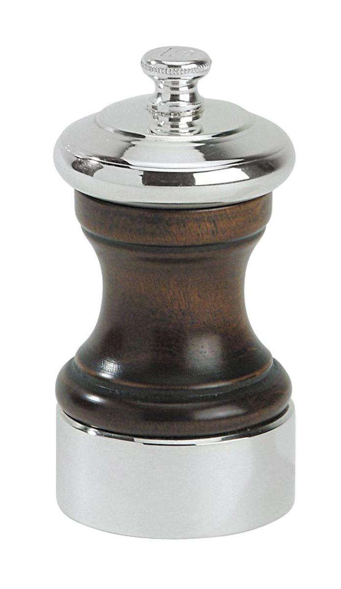 Мельница для соли Peugeot Palace, высота 10 см19587Мельница для соли Peugeot Palace - отличное приспособление для приготовления блюд со свежемолотой солью. Выполнена из дерева и нержавеющей стали. Изделие оснащено двойным рядом винтообразных зубцов для захвата горошин и подачи их к основанию, а затем удержания их до безупречного помола. Эта уникальная система позволяет регулировать уровень помола. Зубцы имеют антикоррозионное покрытие.