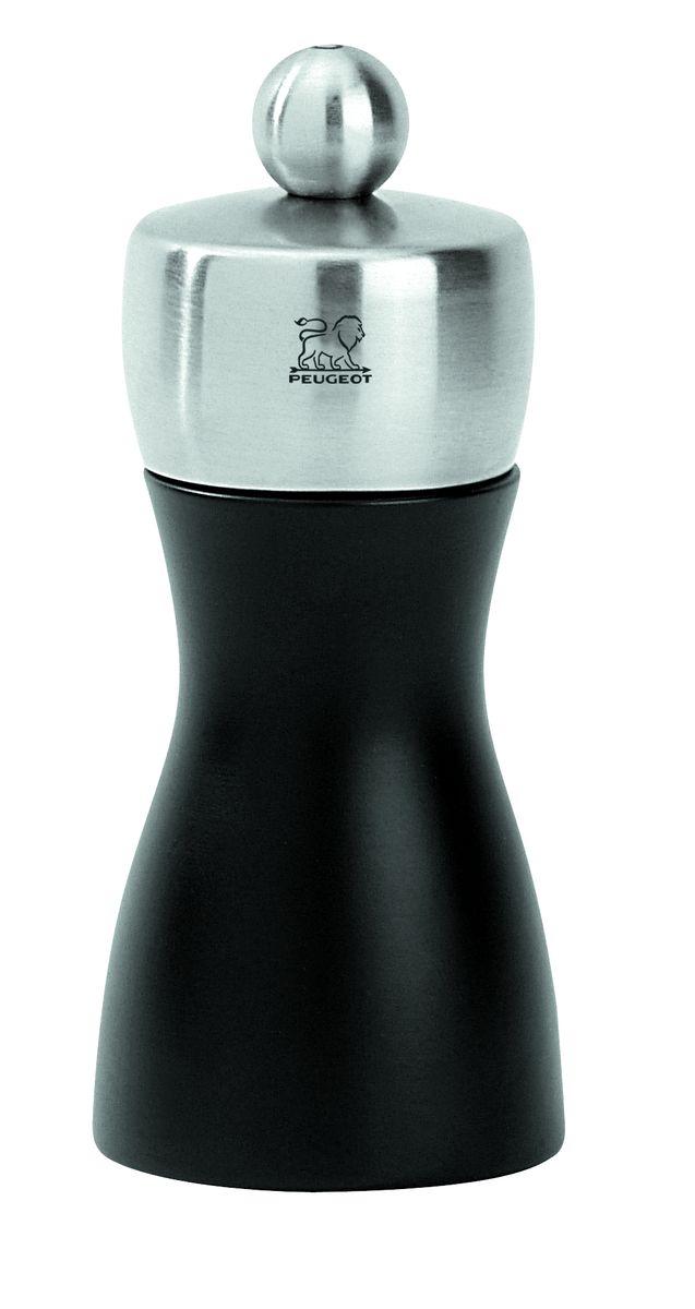 Мельница для соли Peugeot Fidji, высота 12 смVT-1520(SR)Мельница для соли Peugeot Fidji - отличное приспособление для приготовления блюд со свежемолотой солью. Выполнена из дерева и нержавеющей стали. Изделие оснащено двойным рядом винтообразных зубцов для захвата горошин и подачи их к основанию, а затем удержания их до безупречного помола. Эта уникальная система позволяет регулировать уровень помола. Зубцы имеют антикоррозионное покрытие.