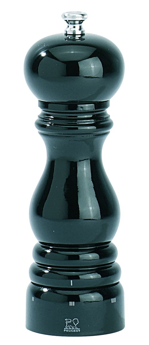 Мельница для соли Peugeot Paris uselect, цвет: черный, высота 18 см21395599Мельница для соли Peugeot Paris uselect - отличное приспособление для приготовления блюд. Мельница выполнена из лакового дерева. Специальный механизм разработан для помола крупной белой соли. Он оснащен двойным рядом винтообразных зубцов для захвата горошин и подачи их к основанию, а затем удержания их до безупречного помола. Изделие имеет 6 уровней помола для перца. Одно движение гарантирует вам, что точный уровень помола будет получен. Просто поверните кольцо из нержавеющей стали в основании механизма и выберите одно из возможных положений, каждое из которых соответствует определенной степени тонкости помола. Система защиты механизмов IMP - запатентованное покрытие, которое позволяет идеально сочетаться механическим свойствам и коррозионной устойчивости. В результате нанесения 4 слоев паров металлов в вакууме изделие долго сохраняет внешний вид и остроту каждого зубца механизма. Продукция Paris является флагманской коллекций Peugeot. Благодаря своей надежности и стильному дизайну эта мельница хорошо подходит для кухни в городской квартире или загородном доме. Продукция также предназначена для профессионального использования, что свидетельствует о ее устойчивости к интенсивному использованию.