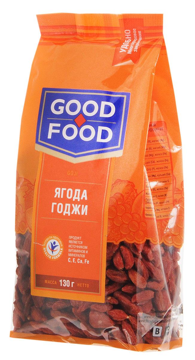 Good Foodягодыгоджи,130г0120710Ягоды годжи являются ценным лекарственным растением, известным во всем мире. Они богаты питательными веществами, витаминами, антиоксидантами, кальцием, цинком, железом, фосфором.