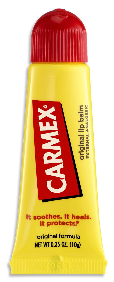 Carmex Бальзам для губ классический,туба в блистере, 10 гFS-00897Уникальная формула CARMEX содержит специальные ингредиенты, которые вызывают ощущение покалывания - это означает, что CARMEX работает; увлажняя и защищая губы, делает их мягкими и здоровыми.