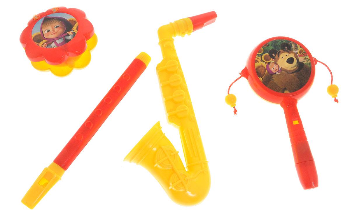Маша и Медведь Набор музыкальных инструментов Моя Jazz банда 4 предмета