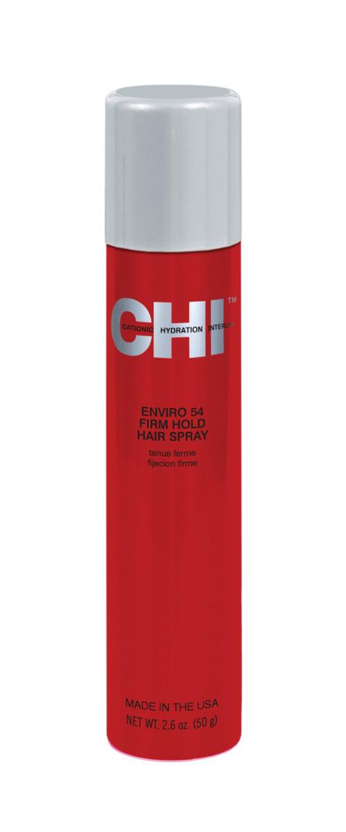 CHI Лак Энвайро нормальной фиксации 60 гCW525Лак средней фиксации. Не утяжеляет волосы, обогащен экстрактами лечебных трав и протеинами шелка, благодаря чему, происходит не только фиксация, но и дополнительное увлажнение и питание волос.
