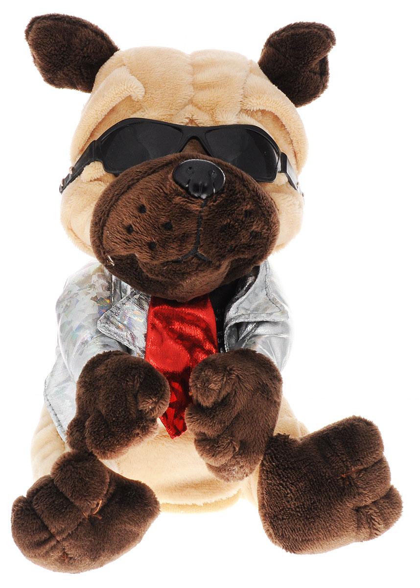 Tongde Интерактивная игрушка Собака-повторюшка T50-D998 мягкая озвученная игрушка tongde фронтальный погрузчик в72429