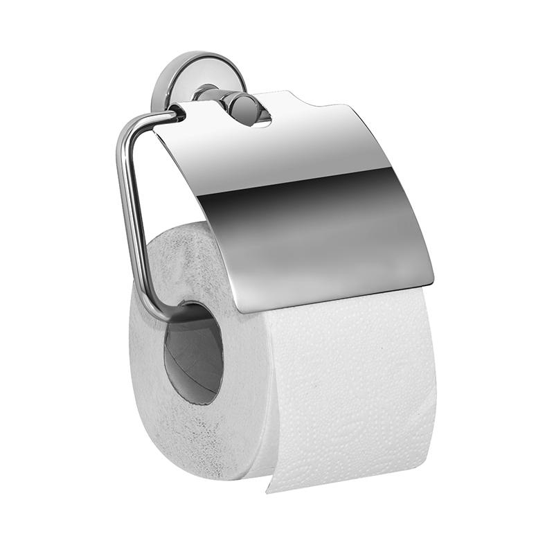 Держатель для туалетной бумаги Iddis Calipso, цвет: хром10503Держатель Iddis Calipso выполнен из высококачественной латуни. Изделие предназначено для удерживания туалетной бумаги. Оно крепится к стене с помощью шурупов. Держатель имеет оригинальный дизайн.