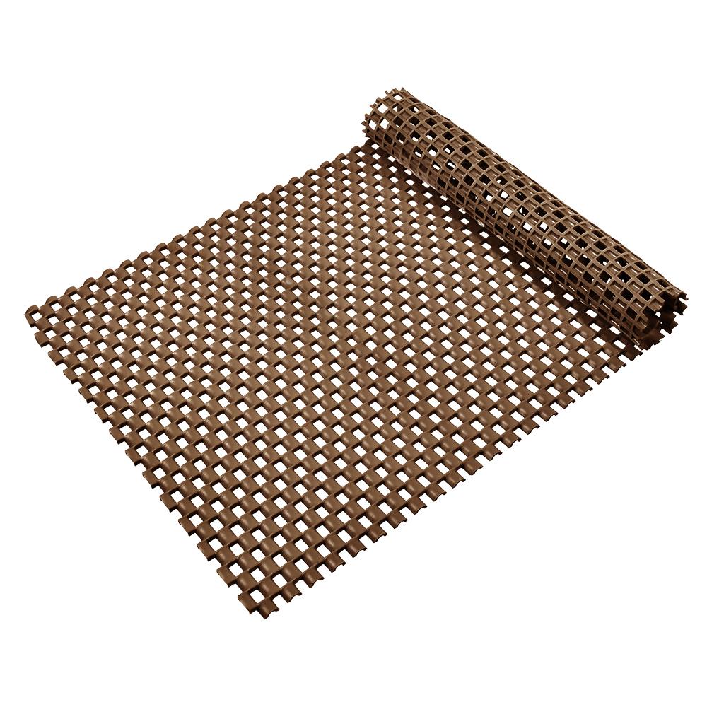 Коврик-дорожка Vortex Шашки, противоскользящий, цвет: коричневый, 0,9 х 10 м391602Коврик-дорожка из ПВХ повышенной твердости и износоустойчивости препятствует скольжению, эффективно защищает помещение от влаги и грязи. Легко укладывается на поверхность любой формы и площади. Легко чистится и моется. Подходит для использования в быту и в помещениях с высокой проходимостью.