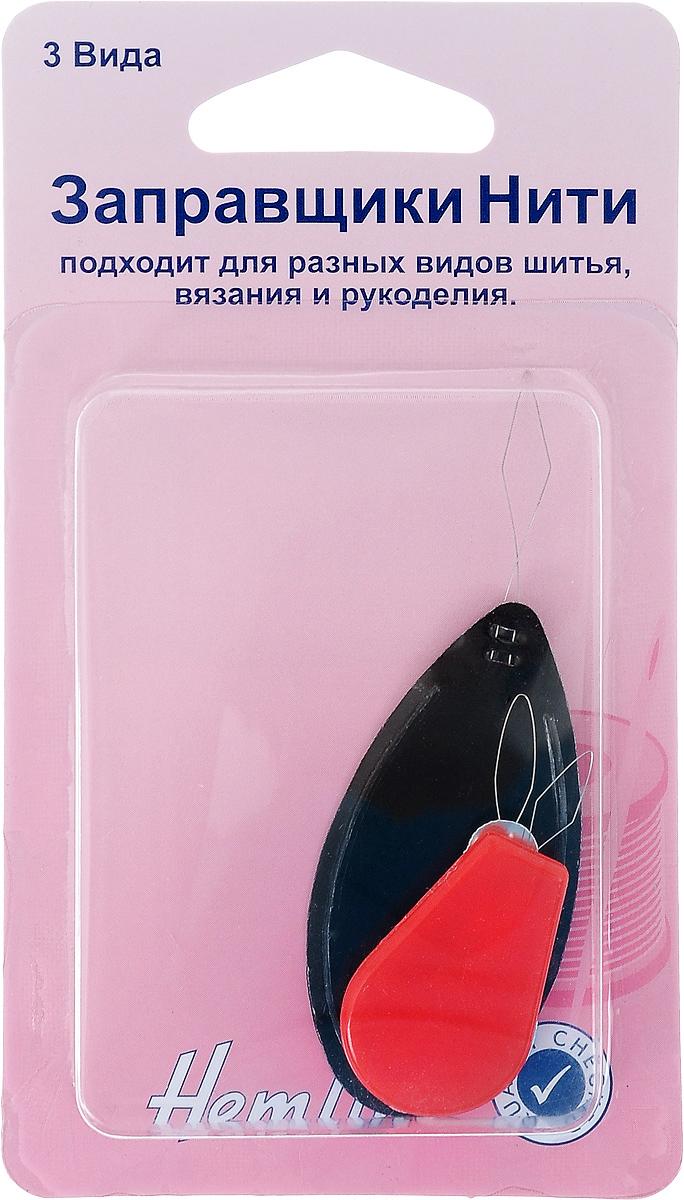 Набор заправщиков нити Hemline, 3 штTD 0350Набор Hemline состоит из 3 видов заправщиков нити. Изделия обеспечивают легкость и удобство вдевания нити в иглы для ручного шитья. Подходят для разных видов шитья, вязания и рукоделия. Длина заправщиков: 7,5 см, 4,5 см, 4 см.
