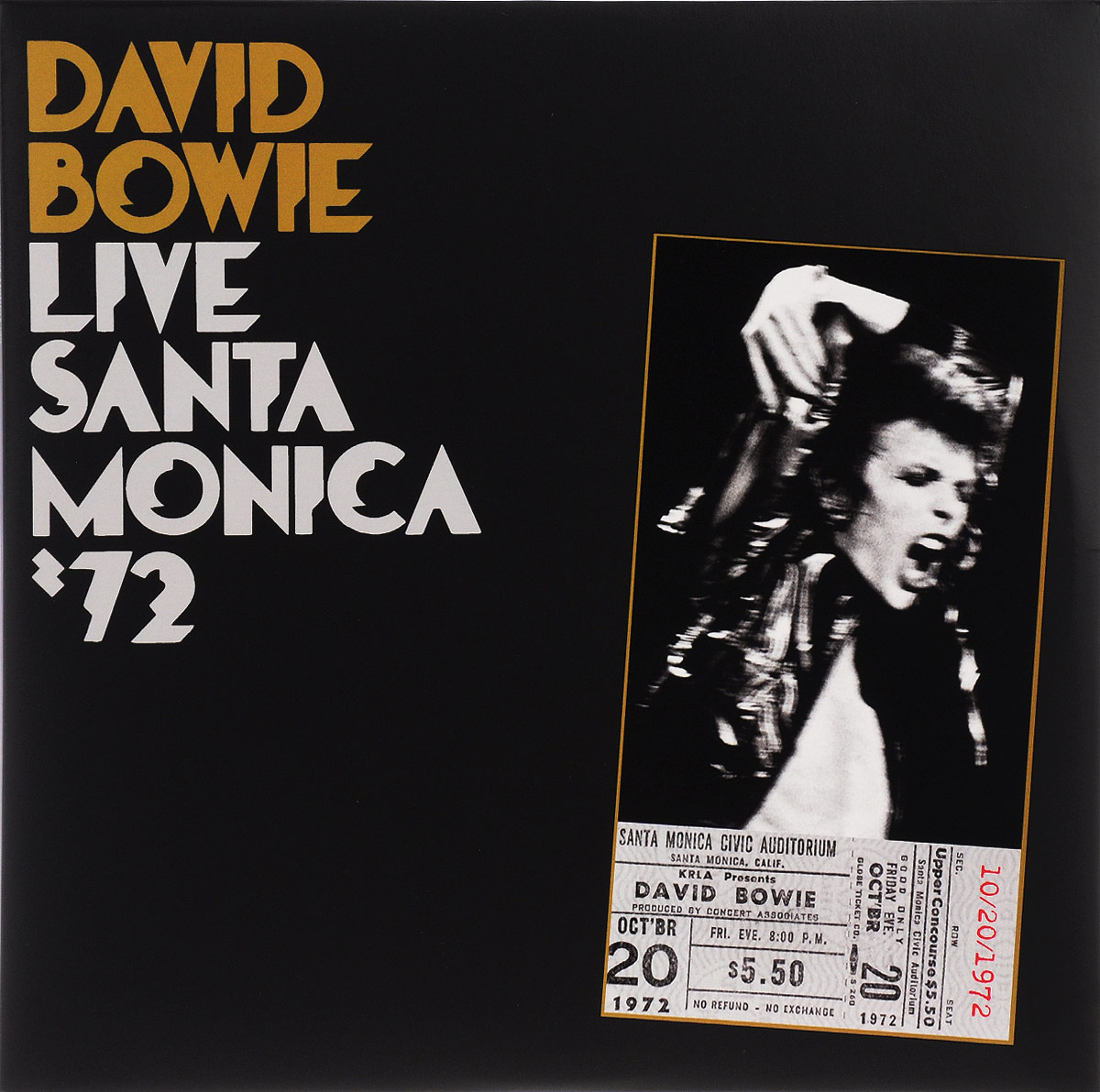 Дэвид Боуи David Bowie. Live Santa Monica '72 (2 LP) be live adults only marivent ex luabay marivent hotel santa ana 4 майорка