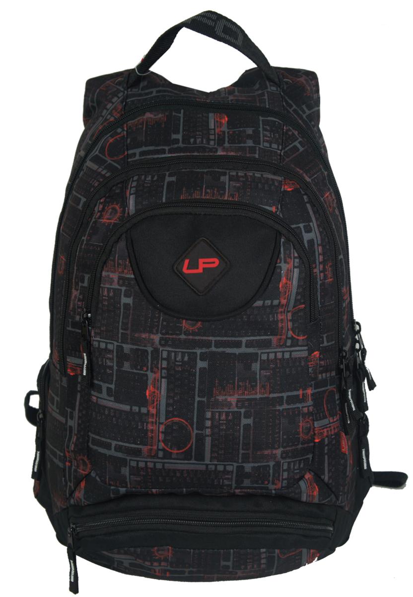 Рюкзак подростковый UFO people, цвет: фиолетовый, 20 л. 7000-47000-4Рюкзак городской UFO people выполнен из высококачественного нейлона и оформлен фирменной надписью.Изделиеимеет мягкие вставки на спинке, карман-органайзер и уплотненное дно. Рюкзак оснащен ручкой для подвешивания и удобными лямками, длина которых регулируется с помощью пряжек. Внутри расположено два вместительных отделения на молнии.