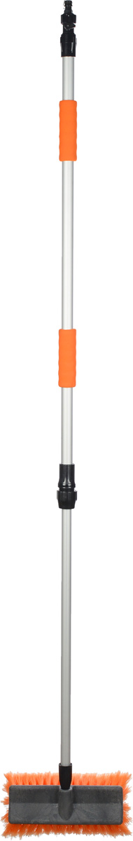 Щетка с насадкой для шланга Airline, с телескопической ручкойCA-3505Щетка для мытья Airline имеет особо мягкую распушенную щетину для бережной мойки, не повреждая лакокрасочного покрытия автомобиля. Щетина, выполненная из высокоупругого полимера, обеспечивает длительную эксплуатацию. Телескопическая ручка изготовлена из металла. Щетка с возможностью подачи воды.Прочный пластиковый корпус щетки оснащен рукояткой с дополнительной теплоизолирующей вставкой из упругого, износостойкого поролона. На рукоятке есть насадка для шланга с водой для более качественной мойки. Характеристики:Материал: пластик, щетина, поролон. Длина рукоятки: 168 см. Длина щетины: 6 см. Ширина рабочей поверхности щетки:25 см. Артикул:AB-H-01.