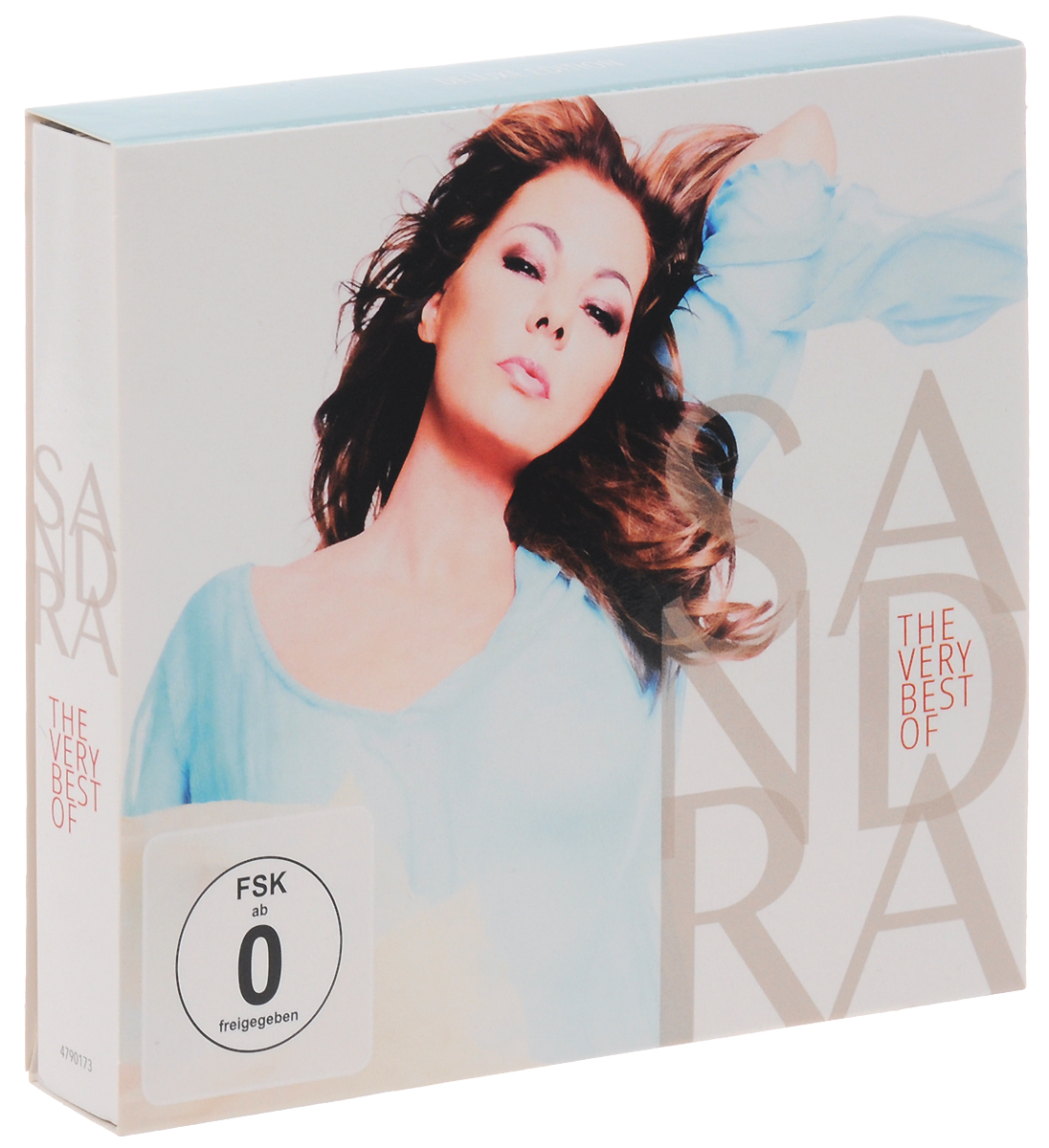 Sandra Sandra. The Very Best Of Sandra. Deluxe Edition (2 CD + DVD) houses of the holy deluxe cd edition cd