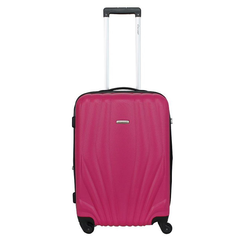 Чемодан-тележка Cavalet Orlando, 78 л, цвет: розовый. 844-60-82ГризлиЧемодан-тележка Cavalet на четырех колесах идеально подходит для поездок и путешествий. Корпус имеет жесткую конструкцию и выполнен из ударопрочного пластика с возможностью увеличения объема на 5 см. Чемодан имеет вместительное отделение для хранения одежды и карманы для аксессуаров. Отделение закрывается на застежку-молнию и замок. Внутри сетчатый карман на молнии и багажные ремни для фиксации. Внутренняя поверхность изделия отделана полиэстером.В верхней части чемодана предусмотрена ручка для переноски. На одной из боковых сторон - бесшумные пластиковые ножки, на другой - дополнительная ручка для переноски.Чемодан оснащен удобной телескопической ручкой. Стильный и удобный чемодан-тележка Cavalet вместит все необходимые вещи и станет незаменимым аксессуаром во время поездок.