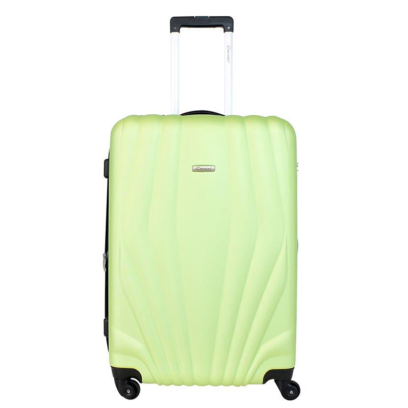 Чемодан-тележка Cavalet Orlando, 108 л, цвет: зеленый. 844-70-4331318301Чемодан-тележка Cavalet на четырех колесах идеально подходит для поездок и путешествий. Корпус имеет жесткую конструкцию и выполнен из ударопрочного пластика с возможностью увеличения объема на 5 см. Чемодан имеет вместительное отделение для хранения одежды и карманы для аксессуаров. Отделение закрывается на застежку-молнию и замок. Внутри сетчатый карман на молнии и багажные ремни для фиксации. Внутренняя поверхность изделия отделана полиэстером.В верхней части чемодана предусмотрена ручка для переноски. На одной из боковых сторон - бесшумные пластиковые ножки, на другой - дополнительная ручка для переноски.Чемодан оснащен удобной телескопической ручкой. Стильный и удобный чемодан-тележка Cavalet вместит все необходимые вещи и станет незаменимым аксессуаром во время поездок.
