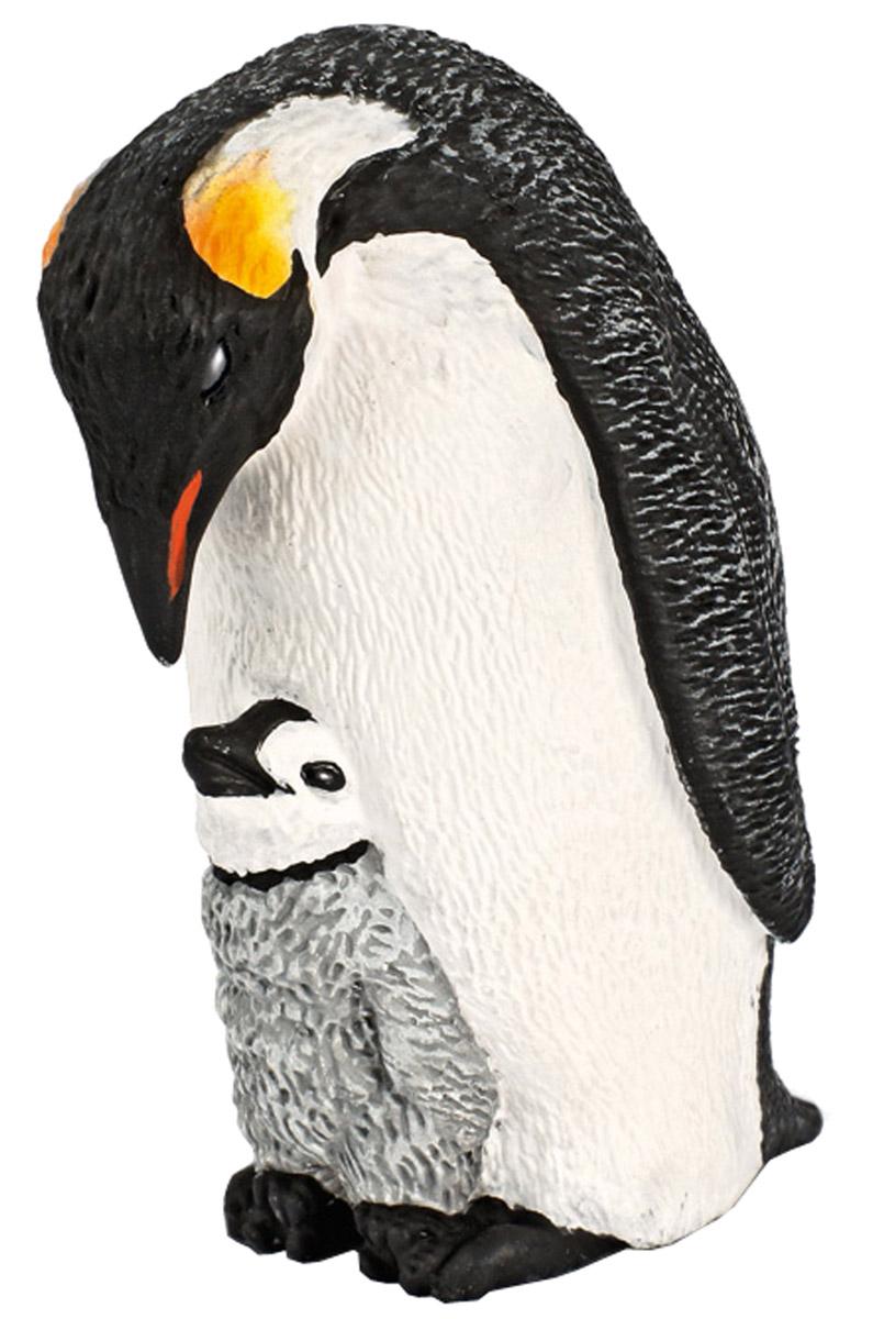 Schleich Фигурка Императорский пингвин с птенцом schleich фигурка черная пантера