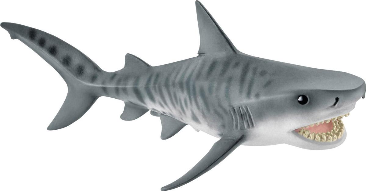 Schleich Фигурка Тигровая акула schleich фигурка черная пантера