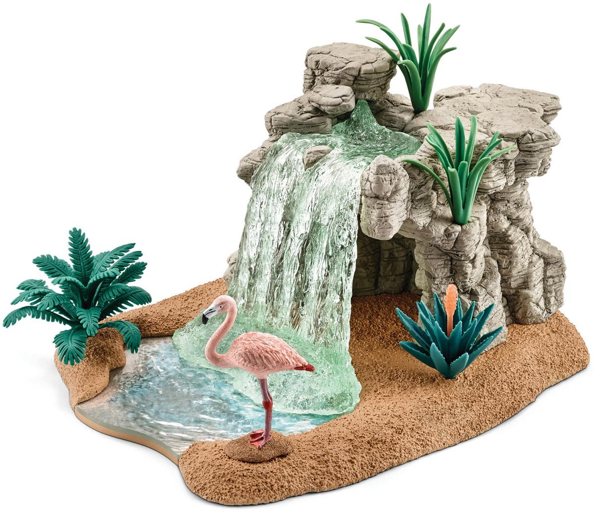 Schleich Игровой набор Водопад schleich игровой набор пещера со львом