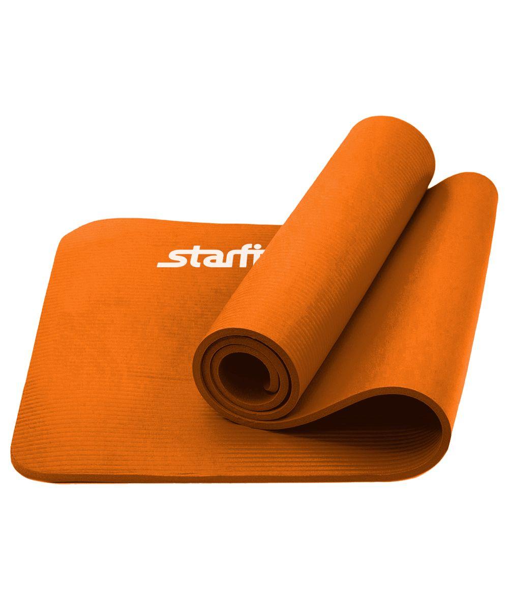 Коврик для йоги Starfit, цвет: оранжевый, 183 x 58 x 1,5 смХот ШейперсКоврик для йоги FM-301- это плотный коврик с одновременно мягким материалом NBR, которыйпривлекает клиентов в сторонуStar Fit.Коврик NBR Star Fit незаменимый аксессуар для любого спортсмена как во время тренировки, так и во время пре-стретчинга (растяжки до тренировки) и стретчинга (растяжки) после тренировки.Коврики NBR Star Fitиспользуются в фитнесе, йоге, функциональном тренинге. Их используют спортсмены различных видов спорта в своем тренировочном процессе.Предпочтительно использовать без обуви.Если в обуви, то с мягкой подошвой, чтобы избежать разрыва поверхности коврика.Люди, занимающиеся медитацией, также делают выбор в пользуStar Fit.Характеристики:Тип:коврик для йоги и фитнесаМатериал:NBR (Бутадиен-нитрильный каучук)Длина, см:183Ширина, см:58Толщина, см:1,5Цвет:оранжевыйКоличество в упаковке, шт: 1Производитель:КНР