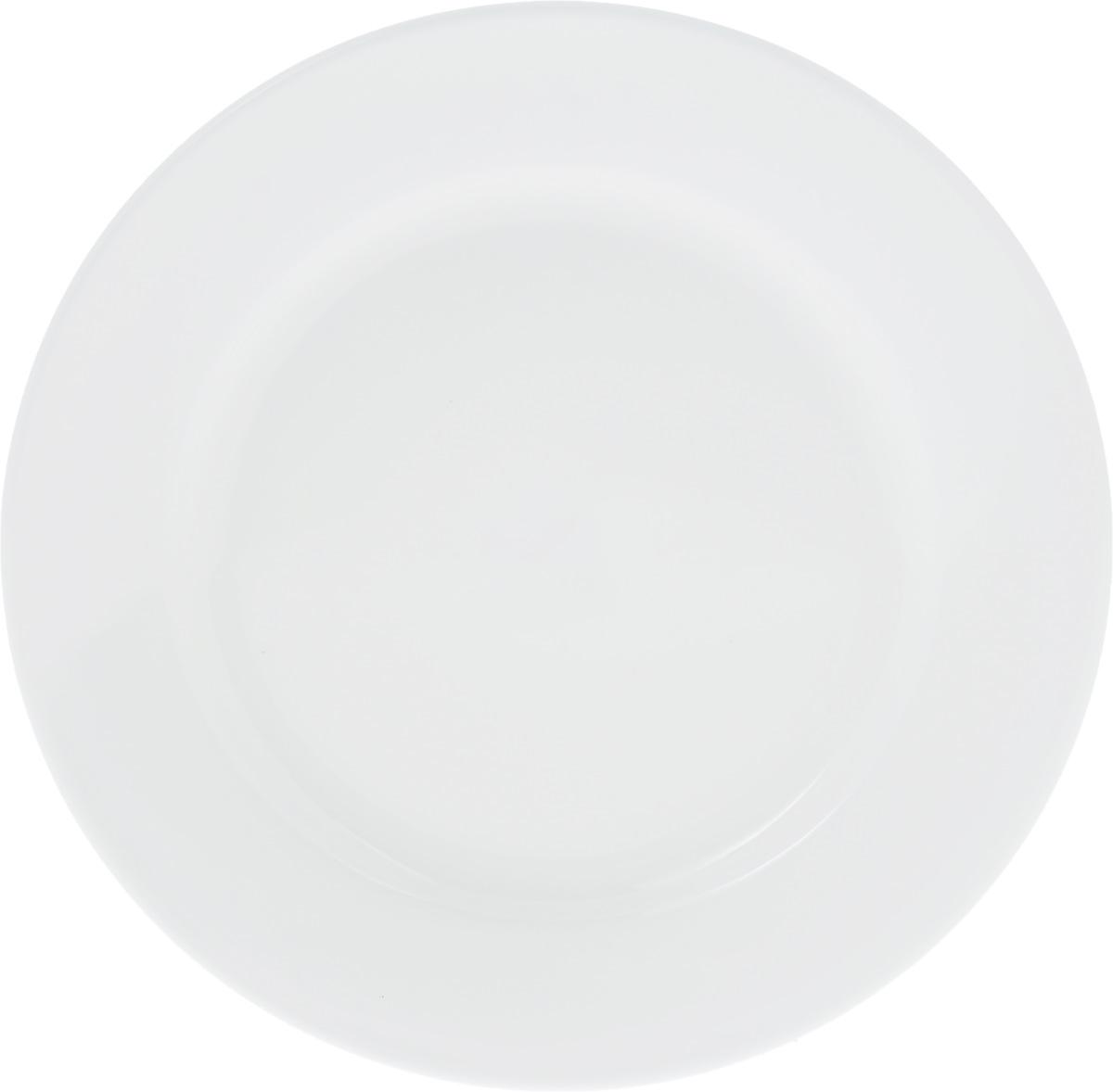 Тарелка Wilmax, диаметр 18 см. WL-991177 / A115510Тарелка Wilmax, выполненная из высококачественного фарфора, имеет классическую круглую форму.Изделие идеально подойдет для сервировки стола и станет отличным подарком к любому празднику.