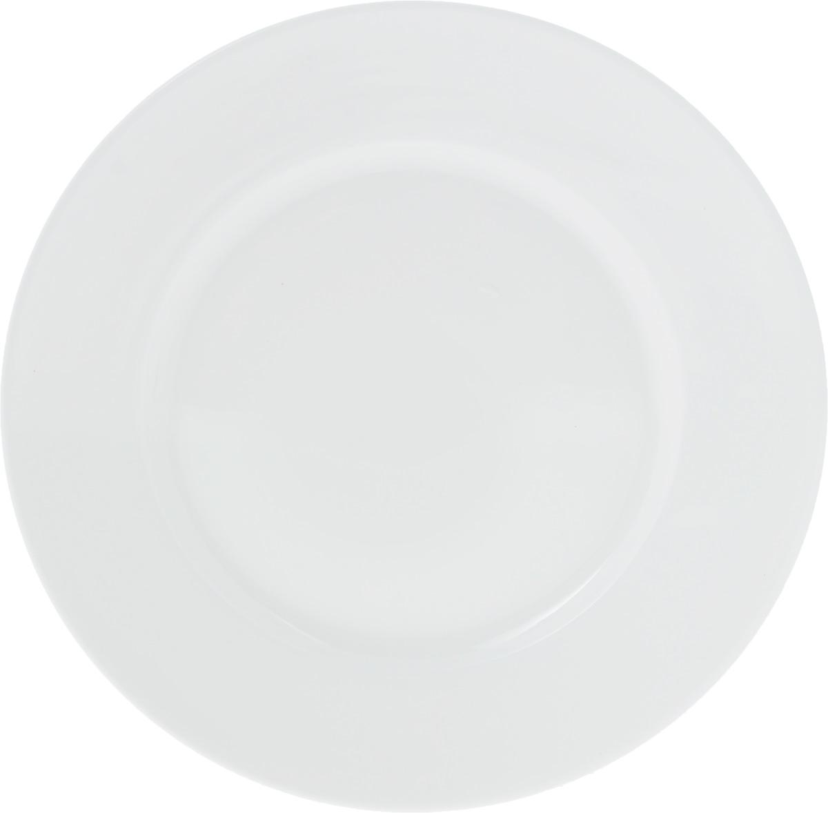 Тарелка Wilmax, диаметр 18 см. WL-991005 / A115510Тарелка Wilmax, выполненная из высококачественного фарфора, имеет классическую круглую форму. Изделие идеально подойдет для сервировки стола и станет отличным подарком к любому празднику.
