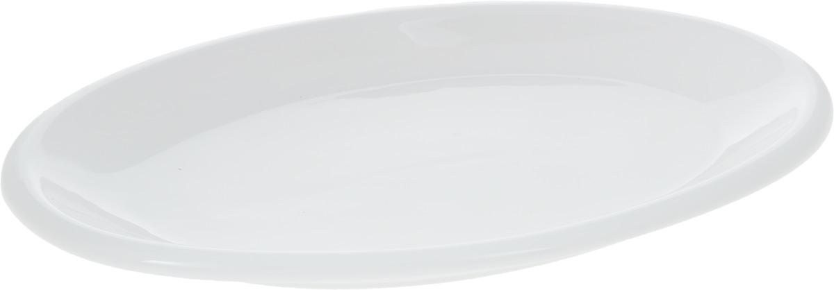 Блюдо Wilmax, 36,5 х 21 смVT-1520(SR)Блюдо Wilmax, изготовленное из высококачественного фарфора, имеет овальную форму. Оригинальный дизайн придется по вкусу и ценителям классики, и тем, кто предпочитает утонченность и изысканность. Блюдо Wilmax идеально подойдет для сервировки стола и станет отличным подарком к любому празднику.Размер блюда (по верхнему краю): 36,5 х 21 см.