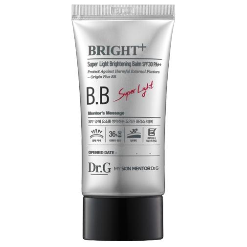Dr. G ББ крем для яркости кожи SPF30 PA++, 45 мл5902596005016Солнцезащитный ББ крем. Возвращает коже сияние и яркость. Разглаживает морщинки, контролирует выработку кожного сала. Разглаживает неровности. Содержит липидный комплекс, экстракт неофинетии серповидной, энотеры и портулака. Липидный комплекс тонизирует, регулирует водный баланс, улучшает эластичность. Растительные экстракты предотвращают воздействие негативных факторов извне и релаксируют кожу. Экстракт энотеры богат витамином E, который борется со свободными радикалами. Помогает выработке коллагеновых и эластиновых волокон. Усиливает микроциркуляцию крови. Экстракт портулака тонизирует кожу. Обладает детокс-эффектом. Содержит витамин С, повышающий способность кожи противодействовать влиянию солнечных лучей. Уменьшает пигментацию. Фактор солнечной защиты SPF 30, индекс преграждения UF-излучения PA ++.Крем подходит для всех типов кожи.