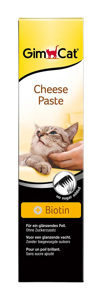 Лакомство для взрослых кошек Gimcat, сырная паста с биотином, 200 г0120710СЫРНАЯ ПАСТА С БИОТИНОМБлагодаря удачному сочетанию ароматного сыра и соответствующего физи-ологическим нормам ценного компонента, биотина, сырная паста является ежедневной добавкой к питанию и прекрасным лакомством для Вашей кошки. Сырная паста благодаря своему натуральному запаху найдет отклик в сердце любой кошечки. Биотин, входящий в ее состав, придает шерсти Вашей кошки блеск, яркость и эластичность.
