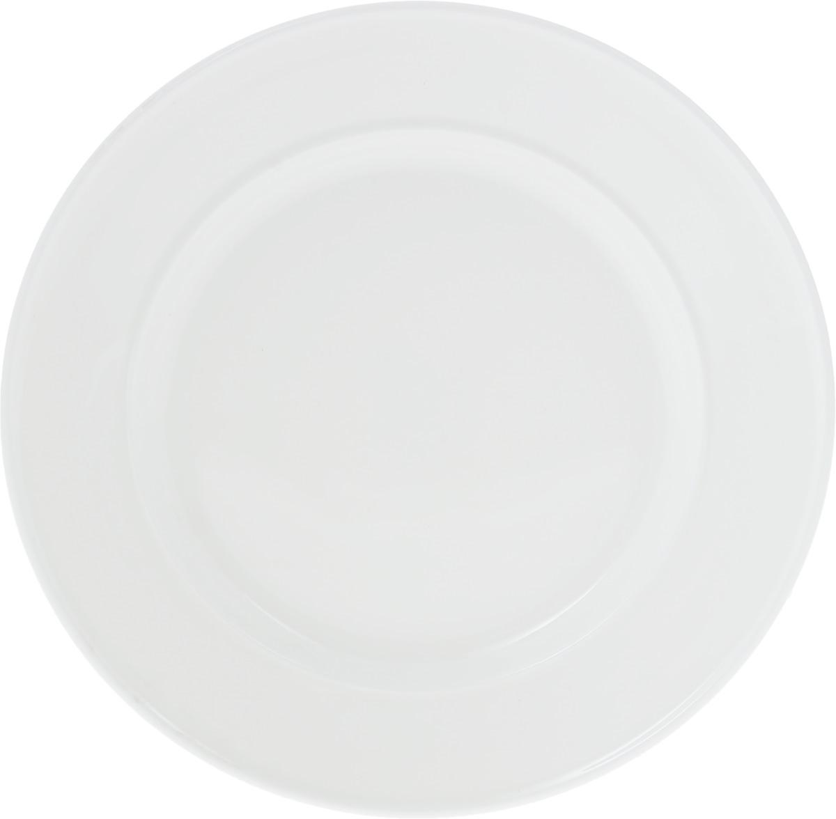 Тарелка Wilmax, диаметр 20,5 смWL-991240 / AТарелка Wilmax, изготовленная из высококачественного фарфора, имеет оригинальную. Изящный дизайн придется по вкусу и ценителям классики, и тем, кто предпочитает утонченность и изысканность. Тарелка Wilmax идеально подойдет для сервировки стола и станет отличным подарком к любому празднику.