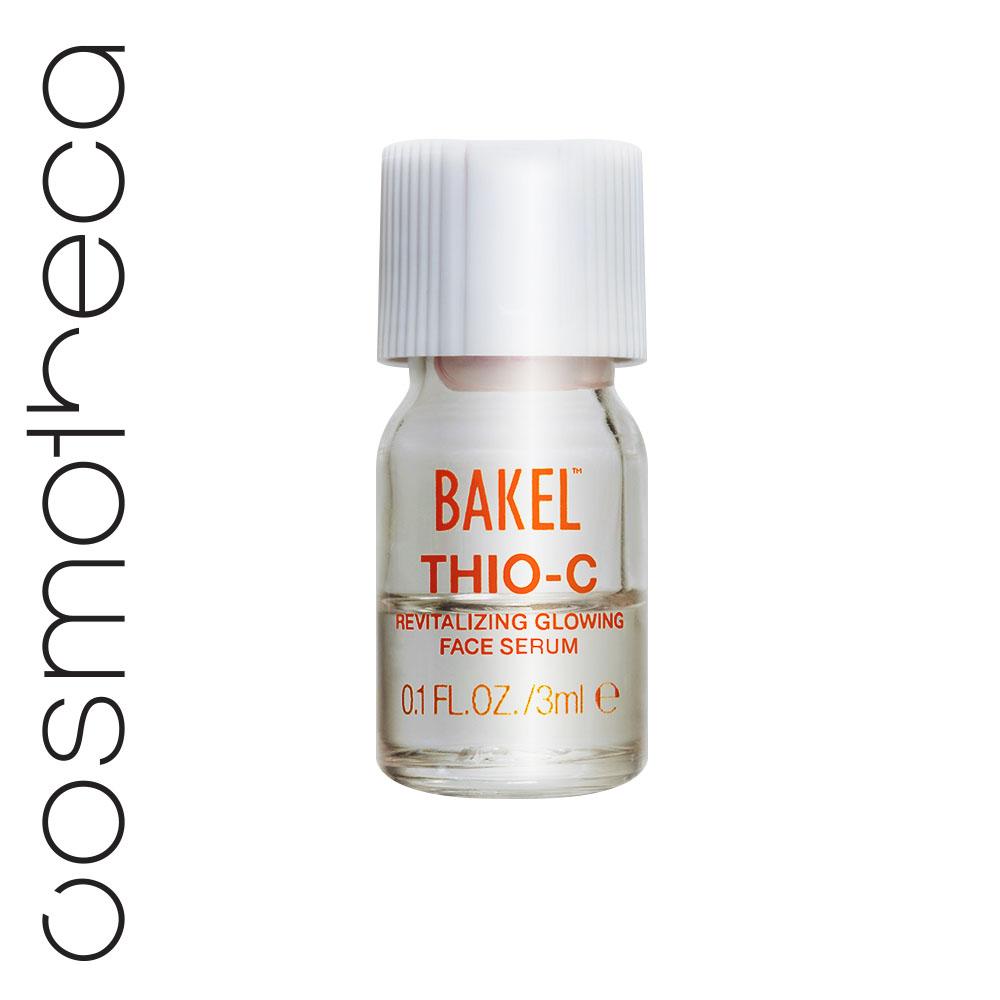 Bakel Оживляющая сыворотка для лица, придающая сияние коже 10х3 млFS-00103Оживляющая антивозрастная сыворотка для любых участков кожи, возвращающая здоровое молодое сияние. Эксклюзивная формула сыворотки устраняет тусклый и неровный тон кожи, вызванный воздействием солнца и/или загрязнением атмосферы: с первого применения кожа становится более гладкой и сияющей. Идеально подходит для носогубных складок и деликатной области вокруг глаз и век. Ее эффективность обеспечивается с помощью мгновенной активации порошка чистого витамина С с жидкостью, содержащей глютатайон.
