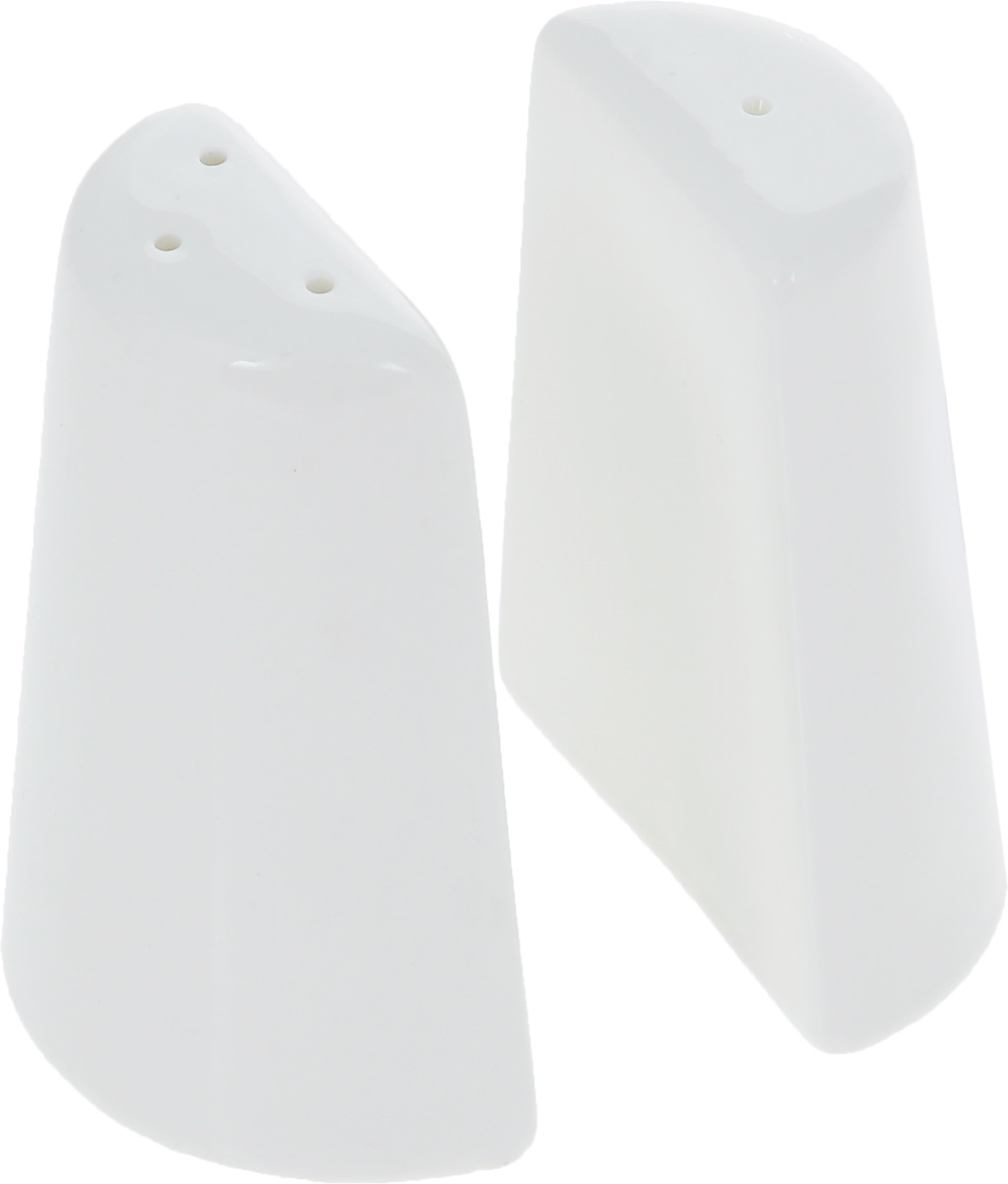 Набор для специй Wilmax, 2 предмета. WL-996068 / SPMT-1951Набор для специй Wilmax состоит из солонки и перечницы. Изделия выполнены из высококачественного фарфора, покрытого глазурью. Такой набор для специй пригодится в любом хозяйстве, он функционален, практичен и легок в уходе. Размер емкости: 7 х 3 х 8,5 см.