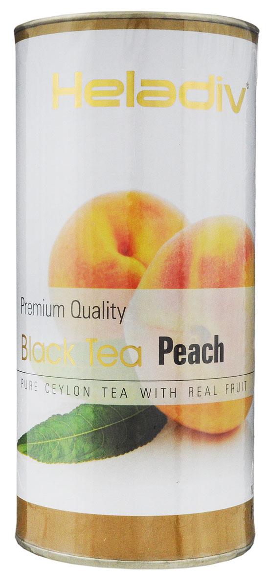Heladiv Peach чай черный листовой с ароматом персика, 100 г0120710Heladiv Peach - это сочетание элитного цейлонского чая с насыщенным ароматом и кусочками персика. Подарит неповторимые ощущения и заряд бодрости.