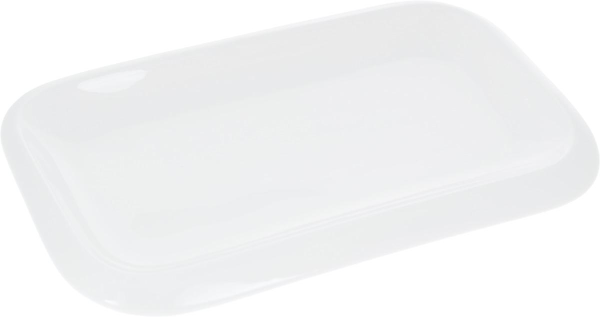 Блюдо Wilmax, 25,5 х 15 смVT-1520(SR)Оригинальное прямоугольное блюдо Wilmax, изготовленное из фарфора, прекрасно подойдет для подачи нарезок, закусок и других блюд. Оно украсит ваш кухонный стол, а также станет замечательным подарком к любому празднику.