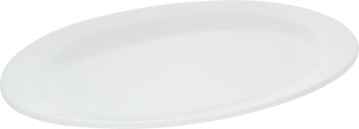 Блюдо Wilmax, 30 х 20,5 см115510Блюдо Wilmax, изготовленное из высококачественного фарфора, имеет овальную форму. Оригинальный дизайн придется по вкусу и ценителям классики, и тем, кто предпочитает утонченность и изысканность. Блюдо Wilmax идеально подойдет для сервировки стола и станет отличным подарком к любому празднику.Размер блюда (по верхнему краю): 30 х 20,5 см.