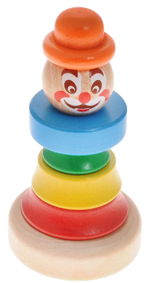 Бомик Пирамидка Клоун цвет колпака оранжевый ирина шведова клоун и все остальные