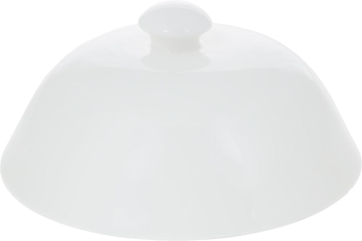 Баранчик Wilmax, диаметр 12,5 см54 009312Баранчик (крышка для горячего) Wilmax изготовлен из высококачественного фарфора. Изделие используется в качестве крышки для тарелок и позволяет дольше сохранить блюда горячими. Такая крышка станет настоящим украшением праздничного стола, а также подойдет для повседневного использования. Диаметр баранчика: 12,5 см. Высота: 7 см.