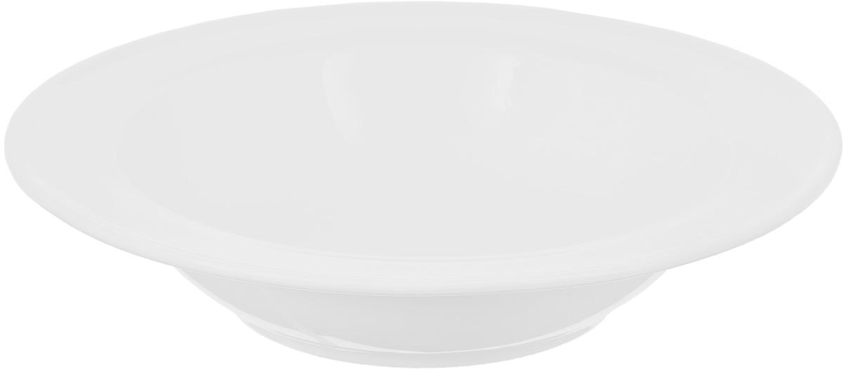 Салатник Wilmax, 285 мл54 009312Салатник Wilmax, изготовленный из высококачественного фарфора с глазурованным покрытием, прекрасно подойдет для подачи различных блюд: закусок, салатов или фруктов. Такой салатник украсит ваш праздничный или обеденный стол, а оригинальный дизайн придется по вкусу и ценителям классики, и тем, кто предпочитает утонченность и изысканность.