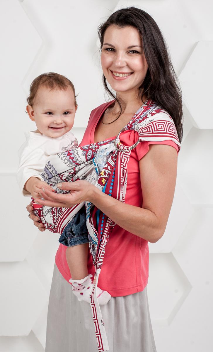 Мамарада Слинг с кольцами Леона размер М