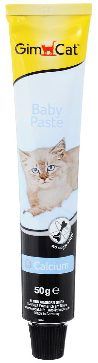 Паста для котят GimCat  Baby , с кальцием, 50 г