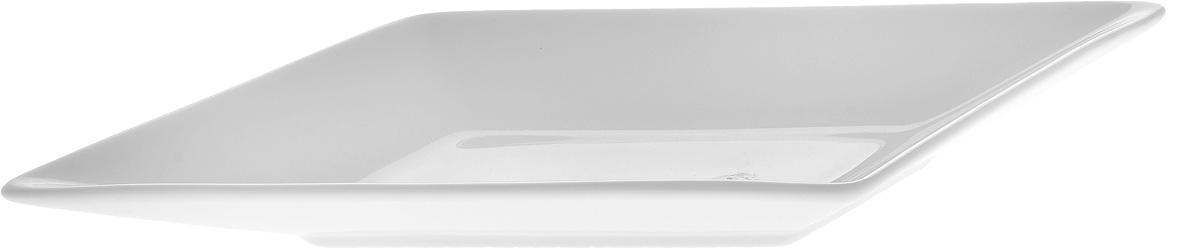 Блюдо Wilmax, 30,5 х 10 х 2,5 см1280307Блюдо Wilmax, изготовленное из высококачественного фарфора с глазурованным покрытием, имеет форму ромба. Блюдо Wilmax идеально подойдет для сервировки стола и станет отличным подарком к любому празднику. Можно мыть в посудомоечной машине и использовать в микроволновой печи. Размер блюда (по верхнему краю): 30,5 х 10 х 2,5 см.