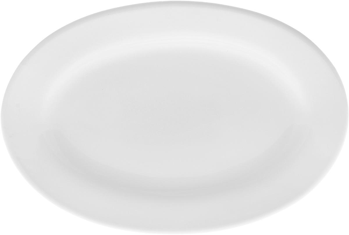 Блюдо Wilmax, 20 х 14,5 см115510Оригинальное овальное блюдо Wilmax, изготовленное из фарфора, прекрасно подойдет для подачи нарезок, закусок и других блюд. Оно украсит ваш кухонный стол, а также станет замечательным подарком к любому празднику.Размер блюда: 20 х 14,5 см.