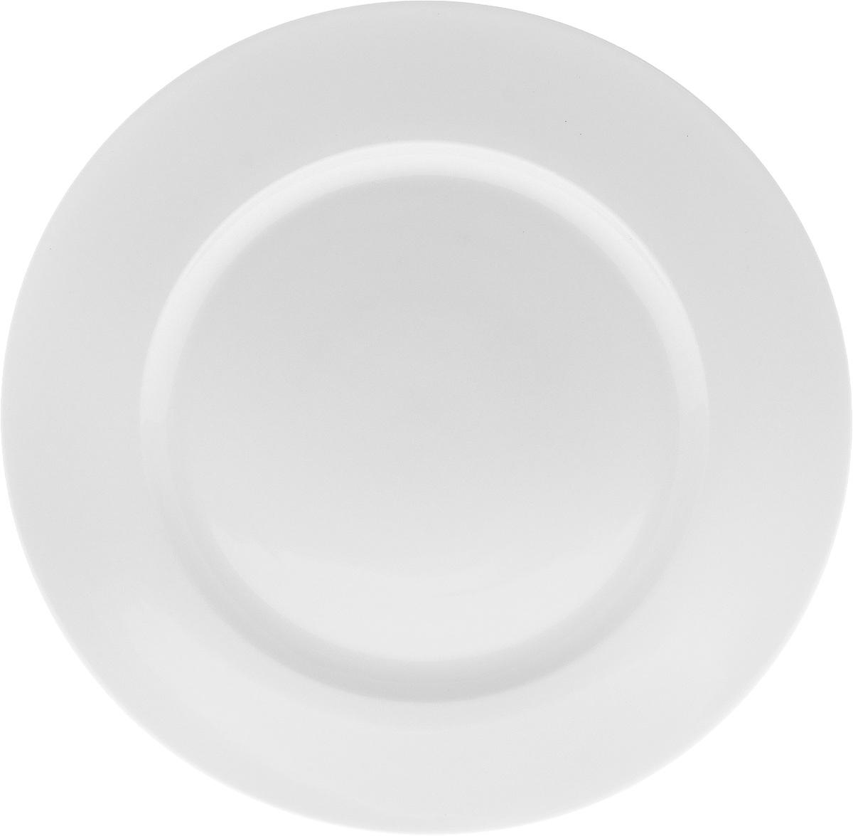 Блюдо Wilmax, диаметр 30,5 смWL-991010 / AОригинальное блюдо Wilmax, изготовленное из фарфора, прекрасно подойдет для подачи нарезок, закусок и других блюд. Оно украсит ваш кухонный стол, а также станет замечательным подарком к любому празднику.