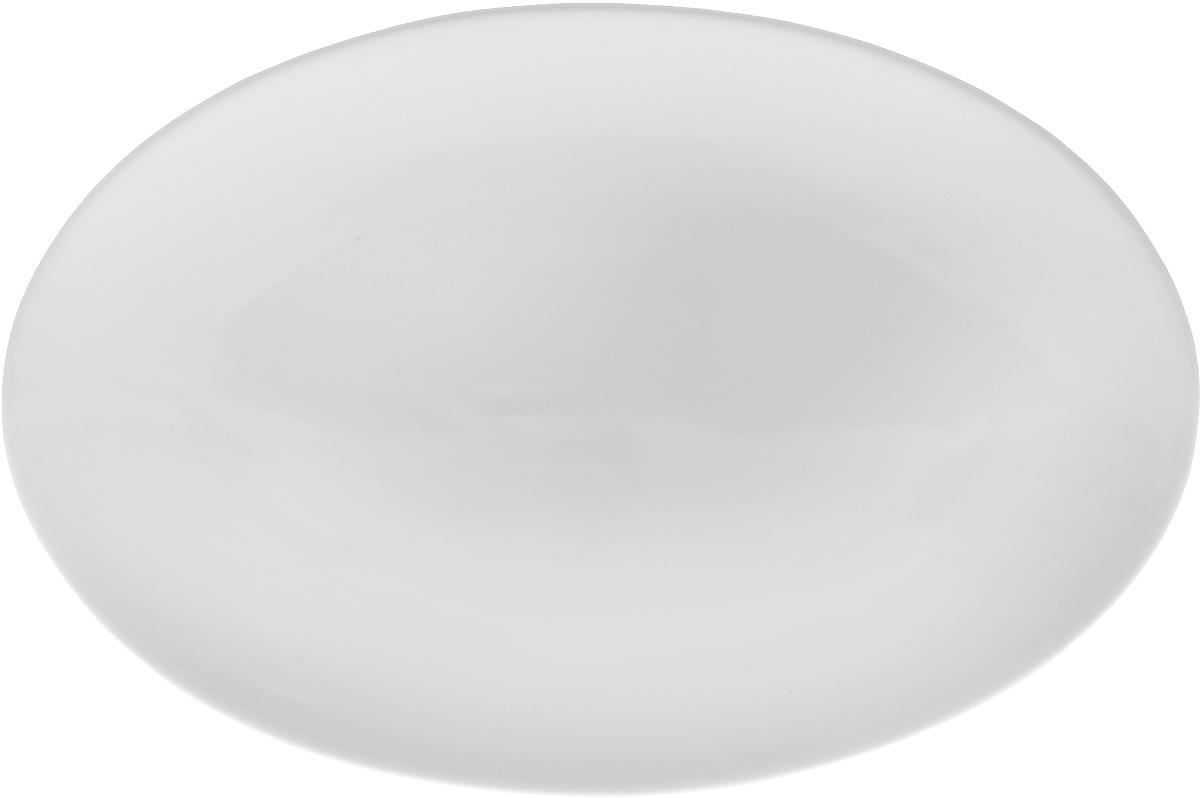 Блюдо Wilmax, 30,5 х 20,4 смVT-1520(SR)Оригинальное овальное блюдо Wilmax, изготовленное из фарфора, прекрасно подойдет для подачи нарезок, закусок и других блюд. Оно украсит ваш кухонный стол, а также станет замечательным подарком к любому празднику.Размер блюда: 30,5 х 20,4 см.