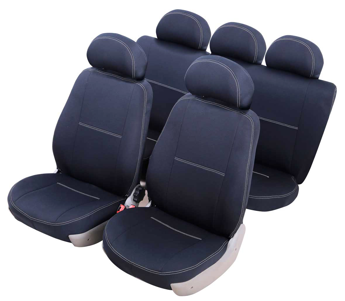 Чехлы на автокресло Azard Standard, для Hyundai Accent (2000-2012 гг), седан, цвет: черный98293777Модельные чехлы из полиэстера Azard Standard. Разработаны в РФ индивидуально для каждого автомобиля.Чехлы Azard Standard серийно выпускаются на собственном швейном производстве в России.Чехлы идеально повторяют штатную форму сидений и выглядят как оригинальная обивка сидений. Для простоты установки используется липучка Velcro, учтены все технологические отверстия.Чехлы сохраняют полную функциональность салона – трасформация сидений, возможность установки детских кресел ISOFIX, не препятствуют работе подушек безопасности AIRBAG и подогрева сидений.Дизайн чехлов Azard Standard приближен к оригинальной обивке салона. Декоративная контрастная прострочка по периметру авточехлов придает стильный и изысканный внешний вид интерьеру автомобиля.Чехлы Azard Standard изготовлены из полиэстера, триплированного огнеупорным поролоном толщиной 3 мм, за счет чего чехол приобретает дополнительную мягкость. Подложка из спандбонда сохраняет свойства поролона и предотвращает его разрушение.Авточехлы Azard Standard просты в уходе – загрязнения легко удаляются влажной тканью.