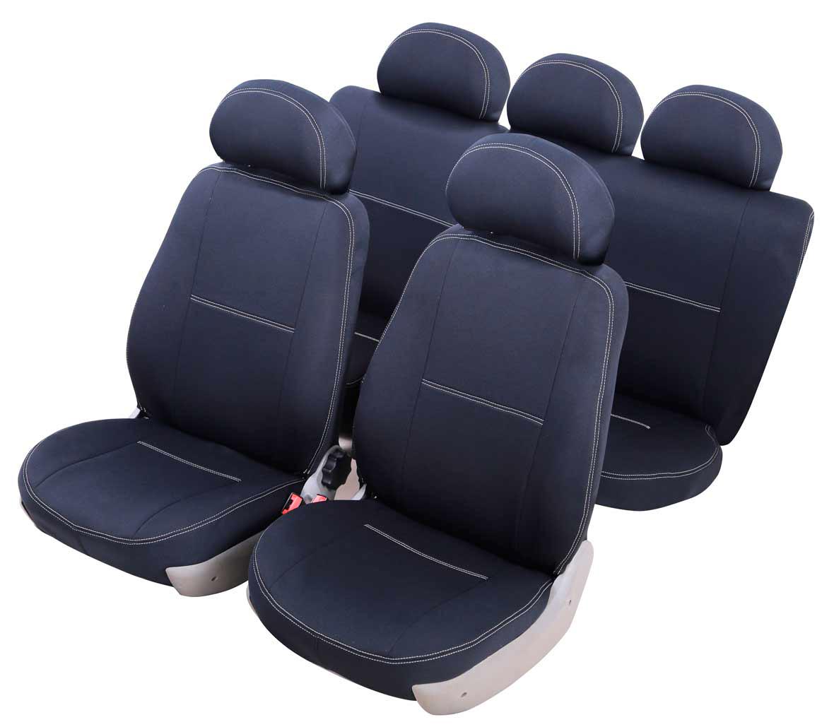 Чехлы на автокресло Azard Standard, для Hyundai Solaris (2010-н.в.), седан, раздельный задний ряд, цвет: черныйВетерок 2ГФМодельные чехлы из полиэстера Azard Standard. Разработаны в РФ индивидуально для каждого автомобиля.Чехлы Azard Standard серийно выпускаются на собственном швейном производстве в России.Чехлы идеально повторяют штатную форму сидений и выглядят как оригинальная обивка сидений. Для простоты установки используется липучка Velcro, учтены все технологические отверстия.Чехлы сохраняют полную функциональность салона – трансформация сидений, возможность установки детских кресел ISOFIX, не препятствуют работе подушек безопасности AIRBAG и подогрева сидений.Дизайн чехлов Azard Standard приближен к оригинальной обивке салона. Декоративная контрастная прострочка по периметру авточехлов придает стильный и изысканный внешний вид интерьеру автомобиля.Чехлы Azard Standard изготовлены из полиэстера, триплированного огнеупорным поролоном толщиной 3 мм, за счет чего чехол приобретает дополнительную мягкость. Подложка из спандбонда сохраняет свойства поролона и предотвращает его разрушение.Авточехлы Azard Standard просты в уходе – загрязнения легко удаляются влажной тканью.