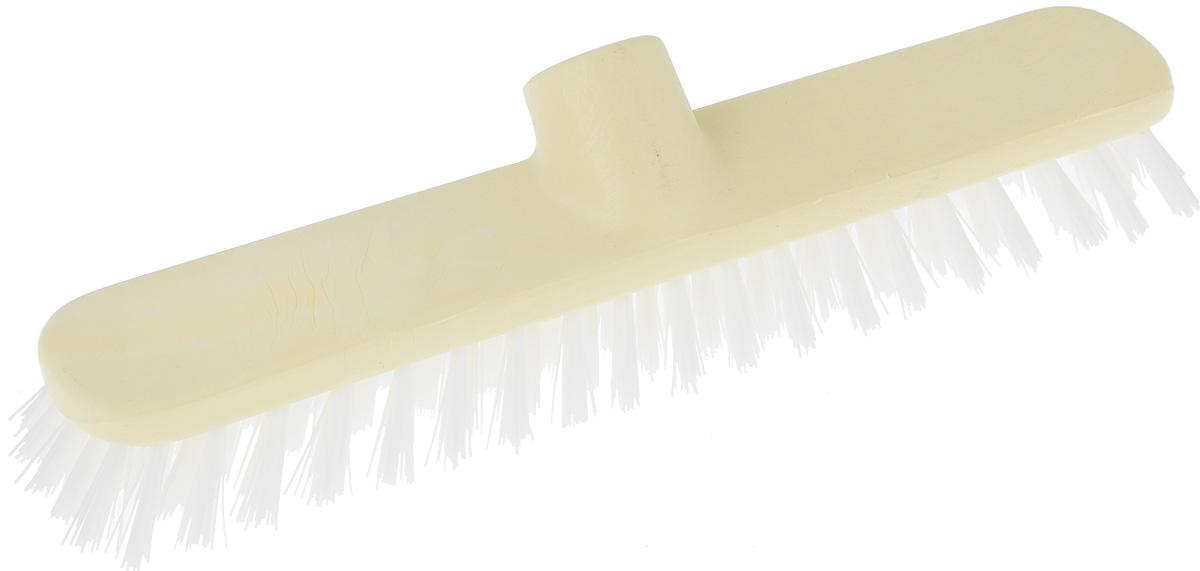 Щетка-насадка для пола Apex Basic, цвет: светло-желтый, длина 28 смVCA-00Щетка Apex Basic, представляет собой сменную насадку для швабры, предназначенную для чистки ковров, ковровых покрытий. Упругие волоски щетки-насадки не оставят следа от грязи, мелкой пыли, шерсти домашних животных. Оригинальная, современная, удобная щетка, которую можно подобрать к любому интерьеру, сделает уборку эффективнее и приятнее. Размер щетки: 28 см х 4,5 см.Длина ворса: 3 см.