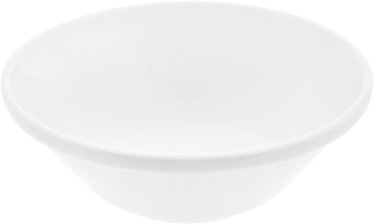 Салатник Wilmax, 1,2 л115610Салатник Wilmax, изготовленный из высококачественного фарфора с глазурованным покрытием, прекрасно подойдет для подачи различных блюд: закусок, салатов или фруктов. Такой салатник украсит ваш праздничный или обеденный стол, а оригинальный дизайн придется по вкусу и ценителям классики, и тем, кто предпочитает утонченность и изысканность.