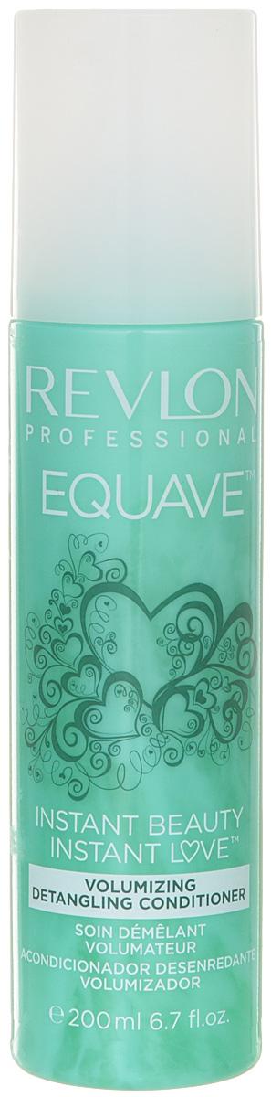 Revlon Professional Equave Несмываемый кондиционер для тонких волос Instant Beauty Volumizing Detangling 200 млFS-00610Несмываемый двухфазный кондиционер мгновенного действия для тонких волос. Придает объем, уплотняет, укрепляет, распутывает волосы. Для слабых, тонких, болезненных волос косметологи Revlon создали обогащенный кератином кондиционер для объема облегчающий расчесывание волос Volumizing Detangling Conditioner. Это косметическое средство мгновенно распутывает тонкие, слабые, болезненные и требующие особого внимания и заботы волосы. Они мгновенно приобретают естественный объем без утяжеления и склеивания. Верхняя фаза препарата освежает и кондиционирует волосы и придает им здоровый блеск. Нижняя фаза кондиционера увлажняет и питает. Волосы приобретают плотность и объем, легко фиксируются и не электризуются.