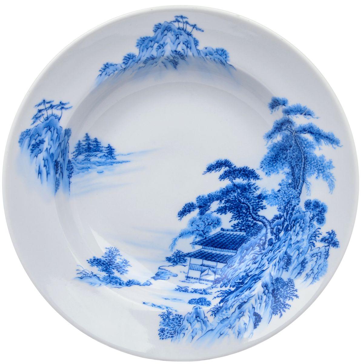 Тарелка глубокая Дулевский фарфор Азия, 20 см54 009312Посуду можно использовать в СВЧ и мыть в посудомоечных машинах. Не рекомендуется использовать абразивные моющие средства.